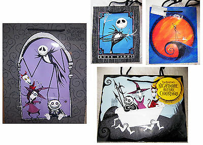 4 dif Vintage Original Release 1993 NBC Nightmare Before Christmas Gift Bags
