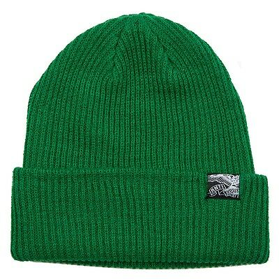 Anti Hero EAGLE FLAG CUFF Skateboard Beanie GREEN
