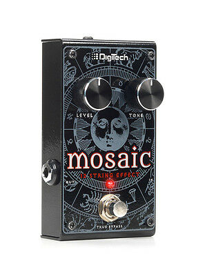 Digitech Mosaic 12-String Polyphonic Effect Pedal. U.S. Authorized Dealer