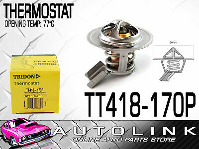 TRIDON THERMOSTAT TO SUIT  HOLDEN FRONTERA 3.2lt V6 1999 - 2004 ( TT418-170P )