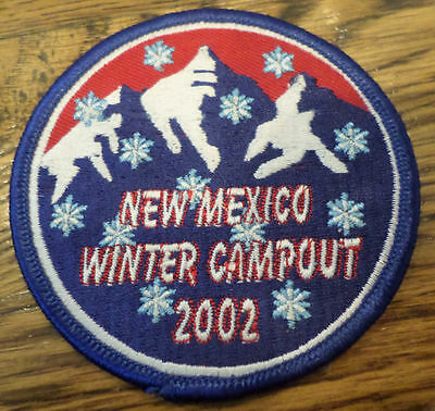 Royal Ranger Uniform Patch New Mexico Winter Campout 2002