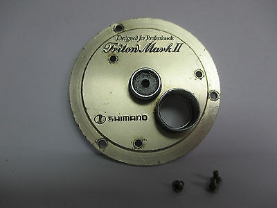 Set Plate USED SHIMANO CONVENTIONAL REEL PART Triton Mark II