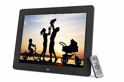 Photomate 15 Inch Digital Picture Frame w/ Motion Sensor & 4GB Built-In Memory