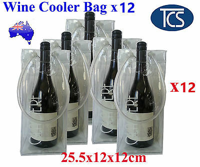 Wine Cooler Carry Bag x12 Champagne BYO Ice bag Chiller Bottle Drink Bucket
