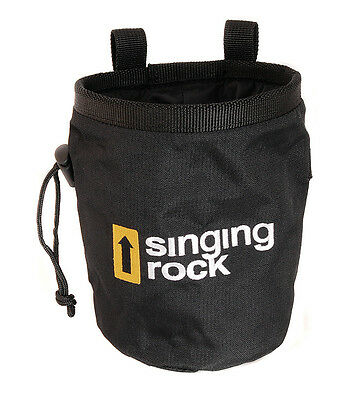 Singing Rock Chalk Bag - Fleece Lining Holder Carry Attachment for Rock Climbing
