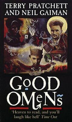 Good Omens, Terry Pratchett Paperback Book The Cheap Fast Free Post