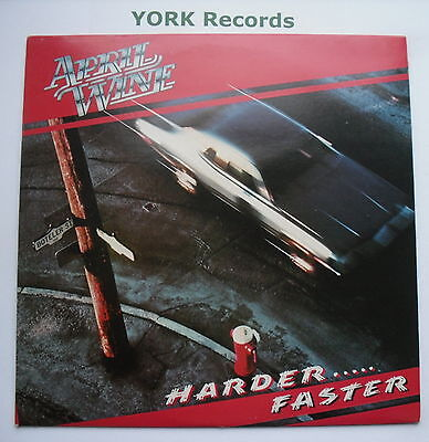 APRIL WINE - Harder .... Faster - Excellent Con LP Record Capitol EST 12013