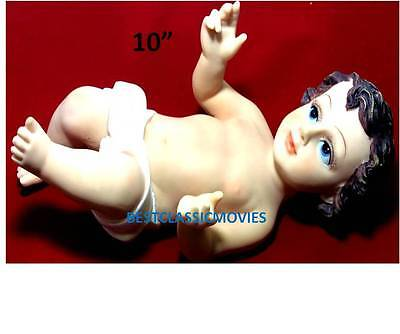 "BABY JESUS STATUE /NINO DIOS 10"" NEW IN THE BOX"