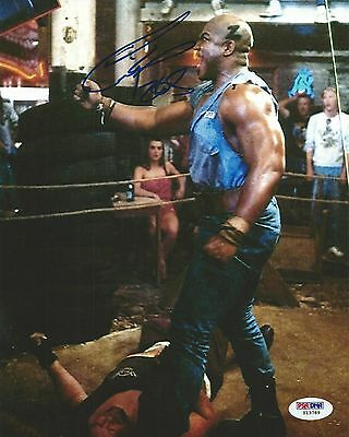 Tiny Lister Zeus Signed WWE 8x10 Photo PSA/DNA COA No Holds Barred Movie Picture