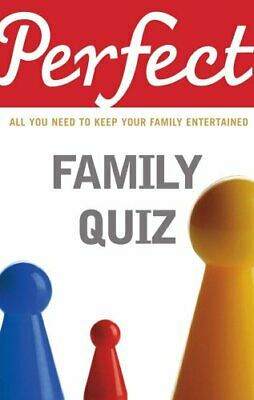 Perfect Family Quiz by Pickering, David Paperback Book The Cheap Fast Free Post