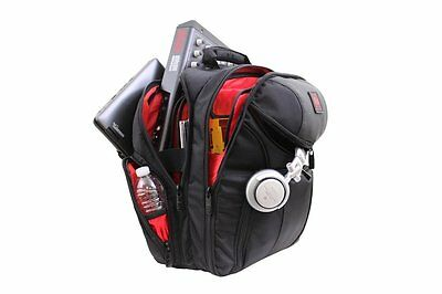 Odyssey BRLBACKSPIN2 Redline DJ/Producer Laptop/Gear Travel Backpack Bag