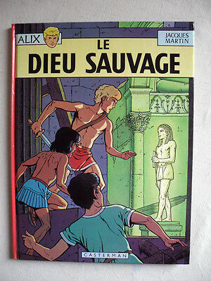 Jacques Martin Alix Le Dieu Sauvage Reed 1974 Tbe