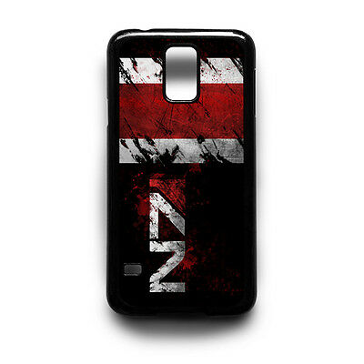 The N7 Mass Effect Game Black Phone Case Cover Samsung Galaxy S3 S4 S5