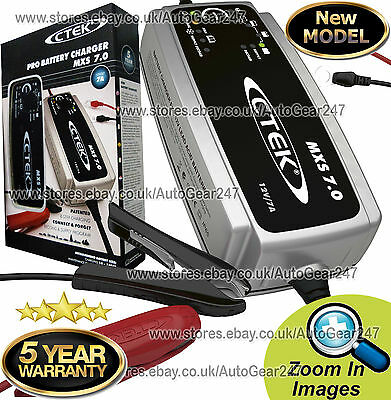CTEK MXS 7.0 12v Car Van Smart 8 Stage Automatic Battery Charger New 2019 Model