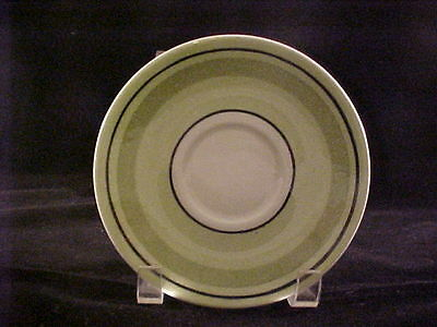 6 Taylor Smith Taylor Ironstone Green Span Saucers