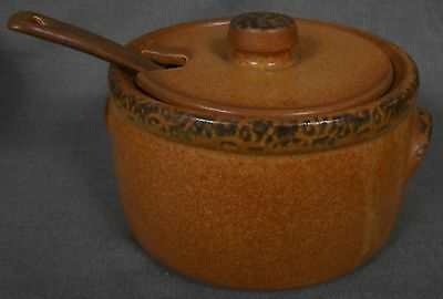 McCoy CANYON MESA PATTERN Soup Tureen w/Lid and Spoon