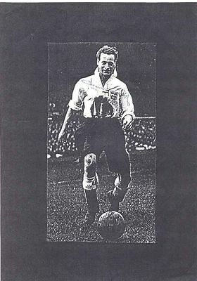 Tom Finney Football Signed Photocopied Image - authentic autograph
