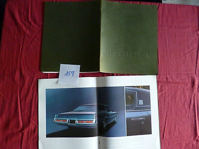 159 / GM PONTIAC GRAND PRIX  : grand catalogue  september 1968