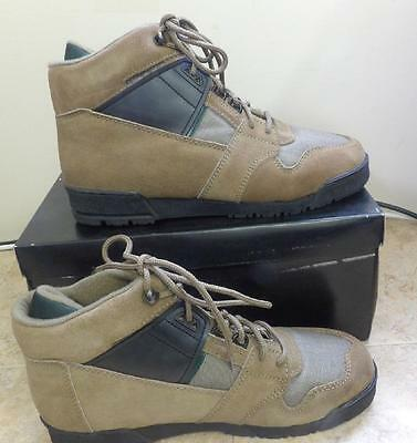 VTG 70s 80s S ADAMS MENS SUEDE HIKING MOUNTAIN CHUKA BOOTS NOS NEW 8.5 8 1/2 M