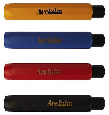 ACCLAIM Bowls Bowlers Chalk Holder Red Blue Yellow Black Pen Style Press Top