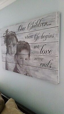 Awesome handmade personalized wall decor