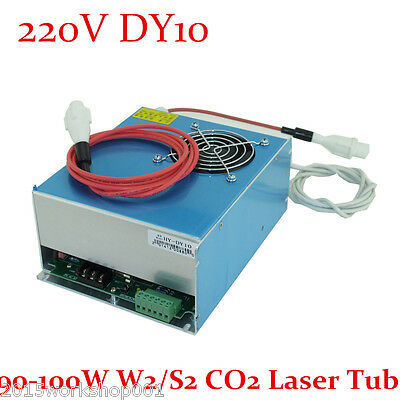 High Quality Reci DY10 Laser Power Supply for 90-100W W2/S2 CO2 Laser Tube 220V