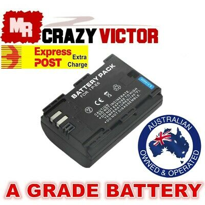 LP-E6 E6N Battery for Canon EOS 7D 60D Mark II 6D 70D 5D2 5D3 5DS-R Camera