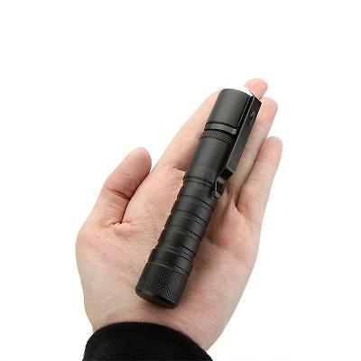 13.8cm CREE XPE LED Flashlight 800LM 3-Modes Rechargeable Zoomable Torch 18650