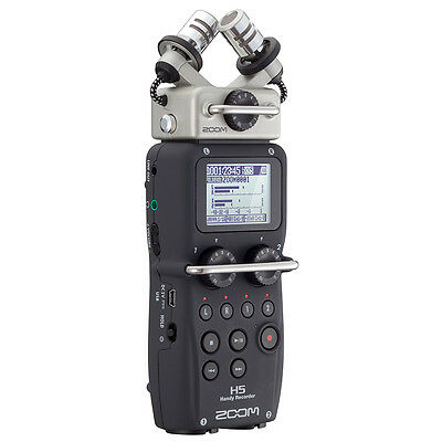 Zoom H5  Handy Recorder with Interchangeable Microphone System, New!