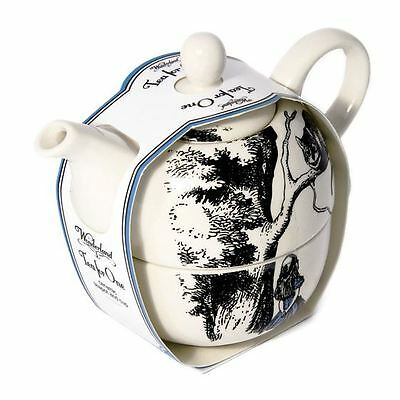 Official Alice in Wonderland Tea for One Set - Teapot and Cup Gift Boxed