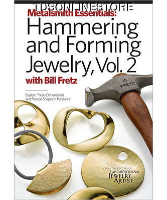 Jewelry Hammering & Forming Instructional DVD Vol #2 By Fretz