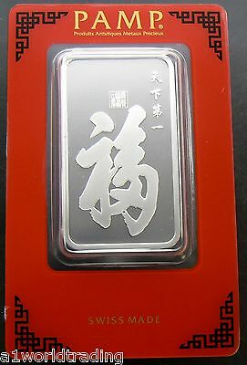 TRUE HAPPINESS NEW PAMP 1 OZ SILVER BAR SEALED .999 PURE