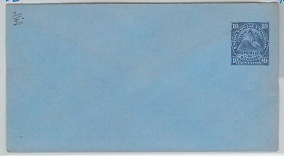 NICARAGUA - - POSTAL STATIONERY COVER : Higgings & Gage # 2