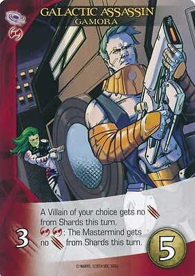 GAMORA 2014 Upper Deck Marvel Legendary Guardians Galaxy GALACTIC ASSASSIN