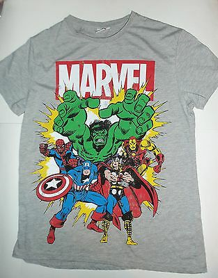 Mens T Shirt with Marvel Comics Avengers Pictures