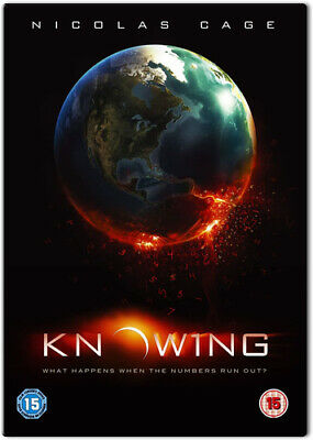 Knowing DVD (2009) Nicolas Cage, Proyas (DIR) cert 15 FREE Shipping, Save £s