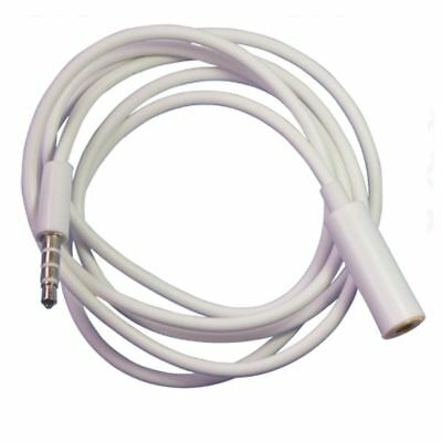 3.5mm Female to Male F/M Headphone Stereo Audio Extension Cable Cord MP3 Iphone