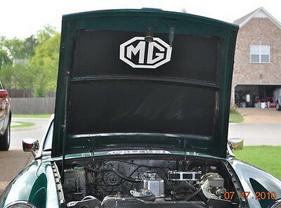 MGB MGB GT Hood Liner Heat Shield With or Without MG Emblem