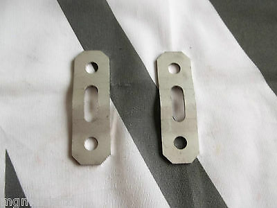 MGF MG F Pair Exhaust Stainless Hanger Plates mgmanialtd.com