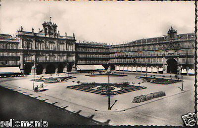 Antigua Postal Salamanca Plaza Mayor Old Postcard Postkarte              Cc00708
