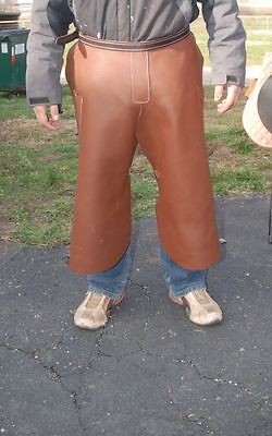 The very best real Amish made leather farriers chaps shoeing apron