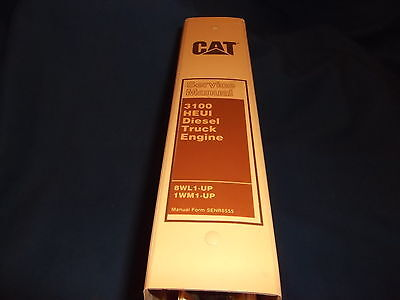 caterpillar b e engine workshop repair service cat caterpillar 3116 3126 truck engine service shop repair manual 8wl 1wm