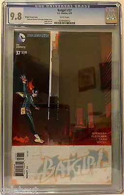 Batgirl # 37 Cgc 9.8! Bengal Variant! Very Limited! New 52!