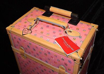 NEW DOONEY & BOURKE DB IT ROLLING TRUNK SUITCASE Luggage LARGEST CARRY ON SIZE!!