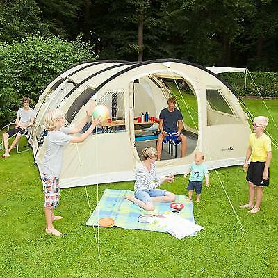 Skandika Gotland 6-9 Person/man Camping Tent Family Sewn In Groundsheet New