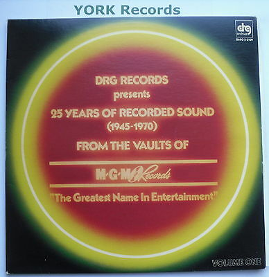 25 YEARS OF RECORDED SOUND FROM THE VAULTS OF MGM - Various -Ex Double LP Record