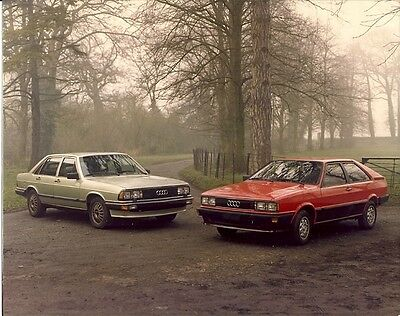 Audi Saloon & Coupe Models Colour Photograph.