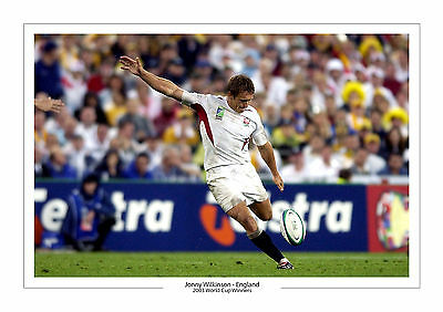 Jonny Wilkinson World Cup 2003  A4 Print Photo England Rugby Union 2 Johnny 2015