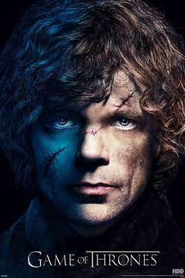 Game of Thrones - Tyrion Lannister Face POSTER 61x91cm NEW *  battle scars