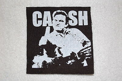 Johnny Cash Cloth Patch (CP129) Rock Country Reverend Horton Heat Mike Ness